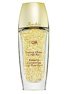 Pure gold reflects light in an extraordinary way, so this 24-carat gold flakes turned hydrating gel is sure to light up your complexion. Genius.