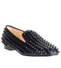 Christian Louboutin Rolling Spikes Flats