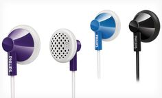 Groupon - $ 3.99 for Philips In-Ear Headphones ($ 9.99 List Price). Three Colors Available. Free Returns.. Groupon deal price: $3.99