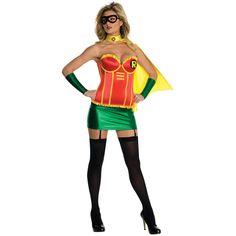 Robin Female Deluxe Adult Larg