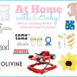Enter to win At Home with Baby contest! Ends tonight at 11:59pm eastern time!
