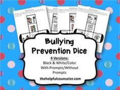 Bullying Prevention Awareness Lessons and a Giveaway! - The Helpful Counselor | The Helpful Counselor
