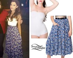 ariana grande steal her style Ariana Grande Outfits Casual, Cute Outfits, Summer Outfits, Cat Valentine Outfits, Fashion Project, Love Her Style, Rock, Fashion Killa, American Apparel