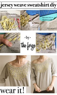 Jersey Weave Sweatshirt – Tutorial