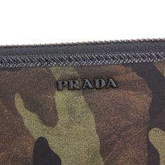 プラダ長財布(ラウンドファスナー)PRADA2ML317ZSRF0334財布テスートTESSUTOメンズMIMETICO(ミメティコ)グリーン緑カモフラージュ迷彩ロゴシンプル