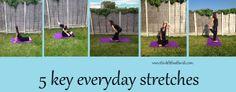 5 Easy Everyday Stretches