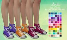 Aveira Sims 4: Dreamteamsims Pixicat High Converse - Recolor • Sims 4 Downloads