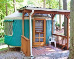 7 glamping slash camping places in #Pennsylvania