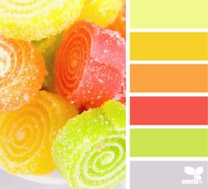 candied brights.  Great for a bathroom or play room