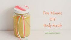 5 Minute DIY Body Scrub
