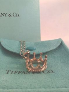 Amahiranileyva Jewelry Crown Necklace Tiffany