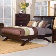 Buy Homelegance Astrid Platform Bed in Espresso on sale online Bedroom Furniture Sets, Bedroom Sets, Home Bedroom, Master Bedrooms, Dream Bedroom, Dining Furniture, King Size Platform Bed, Platform Bedroom, Bed Frames For Sale