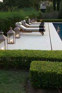 If you are working with the best backyard pool landscaping ideas there are lot of choices. You need to look into your budget for backyard landscaping ideas Outdoor Rooms, Outdoor Gardens, Outdoor Decor, Indoor Outdoor, Landscape Design, Garden Design, Design Jardin, Pool Houses, Pool Designs