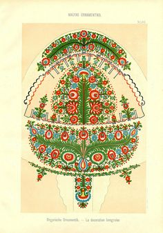 Magyar Ornament, Part 2 by aenota_magic_of_color, via Flickr