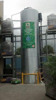 Rainwater harvesting @ Home depot!!!