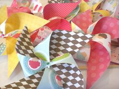 Pinwheel Party Favors