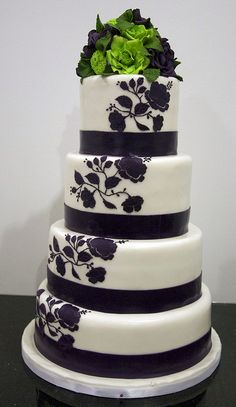 Lime Green and Purple wedding Cakes | Recent Photos The Commons Getty Collection Galleries World Map App ...