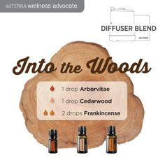 doTERRA Essential Oils Into the Woods Diffuser Blend
