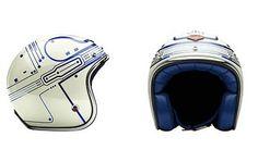 Love this blue - Tron Motorcycle helmet