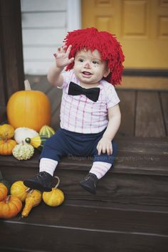 Raggedy Andy Costume, Baby Halloween Costume