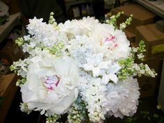 Springtime!  Peony, lilac, Lily of the Valley and stephanotis.... so fragrant and feminine!