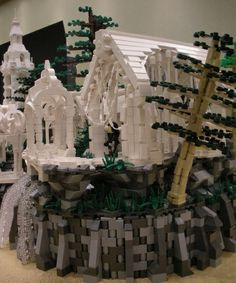 Rivendell: A LEGO creation by Dave Kaleta : MOCpages.com