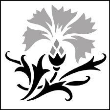 Click to see the actual CS17 - Cornflower Solo  stencil design.