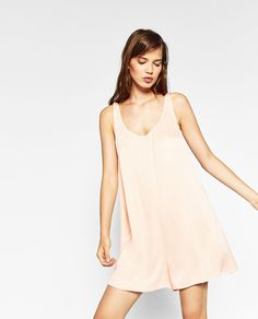 Image 4 of LACE CAMISOLE JUMPSUIT from Zara