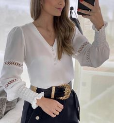 Bell Sleeve Top, Bell Sleeves, Women's Fashion Dresses, Blouse, Long Sleeve, Womens Fashion, 139, Blazer, Tops