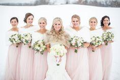 Real Hazeltine Wedding Stories: Winter Fairy Tale
