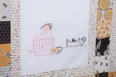 Bee-utiful QAL {Block 15 – Bee Courageous} « Moda Bake Shop
