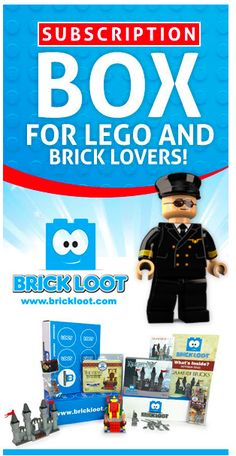 My kids are going CRAZY for @brickloot Try it & save 10% w/code usfamily Give the #gift that keeps giving! @brickloot #lego #subscriptionbox #ad