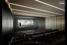 Movie theater of your dreams | City Lighting Products | www.facebook.com/CityLightingProducts