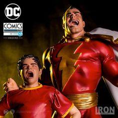 Estátua Shazam Deluxe Art Scale 1/10 DC Comics Serie 2  - 19,5 cm - Iron Studios