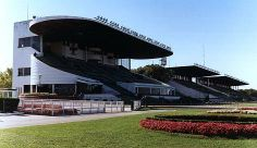 The Hipódromo de San Isidro is a horse racing track located in San Isidro, Buenos Aires, Argentina. It is owned by the Jockey Club. It was inaugurated on 8 December 1935 and is one of the largest in the Americas.