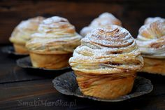 Cronut, Croissant, Food And Drink, Sweets, Breakfast, Cakes, Recipes, Gastronomia, Mussels
