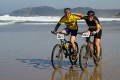 Travel to Umngazi to ride the Pondo Pedal mountain bike race on the Wild Coast in the Eastern Cape of South Africa. Mountain Bike Races, Road Bikes, South Africa, Cape, Bicycle, Racing, Gallery, Travel, Mantle