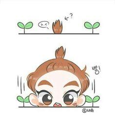 Xiumin So Cute