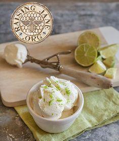 Lime Frozen Yogurt: Prep Time: 10 Minutes Plus 40 Minutes Processing  Makes: About 1 Quart