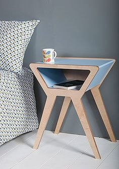 If you own a bedside table, ask your parents in the event that you can paint it a different color to meet your room. A bedside table is something that you find in practically every bedroom. There are things to… Continue Reading → Funky Furniture, Plywood Furniture, Contemporary Furniture, Furniture Design, Contemporary Bedside Tables, Table Furniture, Furniture Ideas, Unique Bedside Tables, Plywood Projects