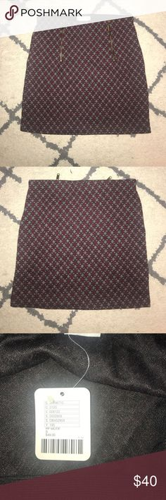 Urban outfitters size small patterned skirt Urban outfitters purple and gray patterned skirt. Size small Urban Outfitters Skirts Mini