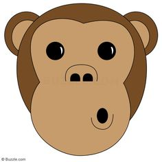 Kids, Go Ape! Step-by-step Instructions to Draw a Cartoon Monkey - Art Hearty Cartoon Noses, Cartoon Monkey, A Cartoon, Monkey Drawing, Monkey Art, Art For Kids, Crafts For Kids, Arts And Crafts, Reading Themes