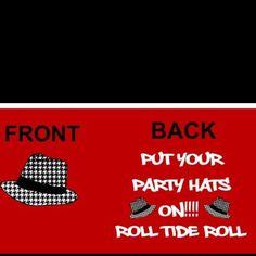 Bama shirt roll tide!