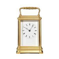 Gorge cased Antique Carriage Clock