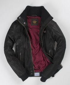 Superdry Crashed Biker Jacket - Men's Leathers ($200-500) - Svpply