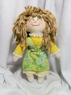 Handmade Rag Doll OLIVIA #HAF #HAFshop #handmade $40.00