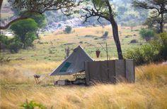 The exclusive Wayo Africa camp in the Serengeti, Tanzania. Fun safari experience for sure!