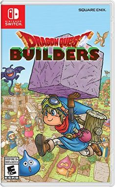 in the picture:Dragon Quest Builders – Nintendo Switch lots of color options – get more info:https://www.amazon.com/dp/B01NASEX0C    Welcome to my blog where we will be looking at the new Dragon Quest Builders – Nintendo Switch.  The Dragon Quest Builders http://www.giftideascorner.com/best-gifts-for-gamers
