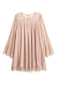 Korte kanten jurk   H&M