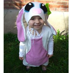 child white bunny costume for baby toddler £42.00